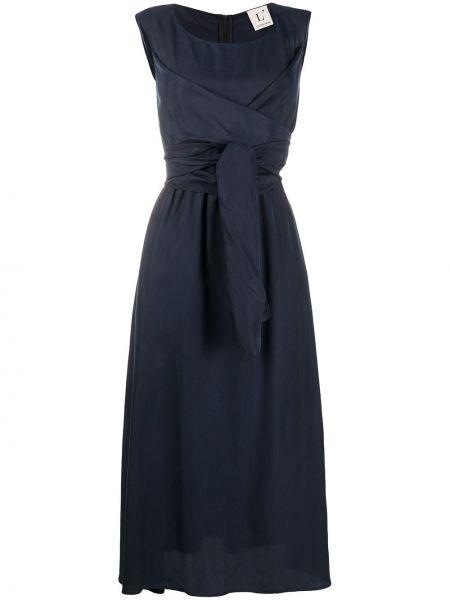 Платье миди на молнии с карманами Lautre Chose
