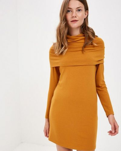 Вязаное платье осеннее трикотажное S&a Style