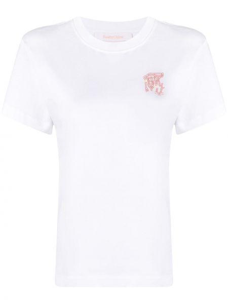 Prosto bawełna bawełna koszula krótkie rękawy Rag & Bone
