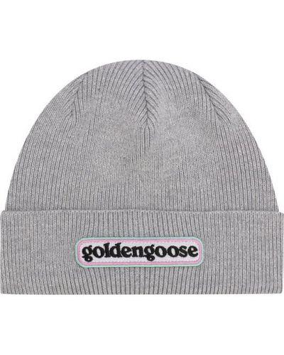 Шапка хлопковая с нашивками Golden Goose Deluxe Brand