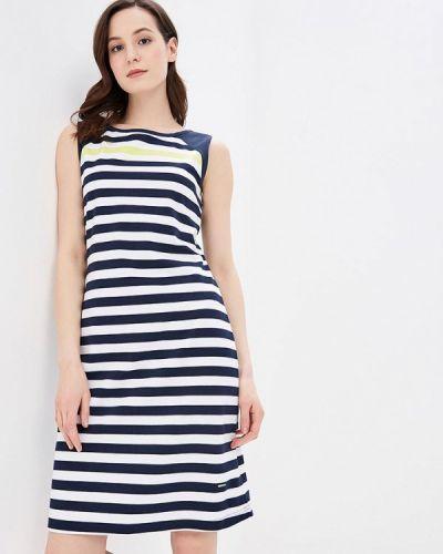 Платье весеннее синее Luhta