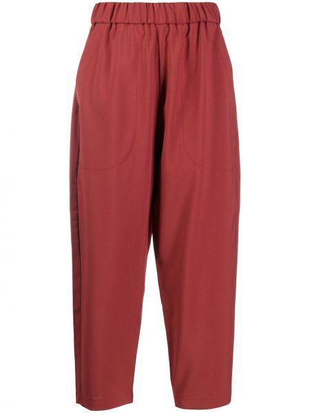 Укороченные брюки зауженные с завышенной талией Barena