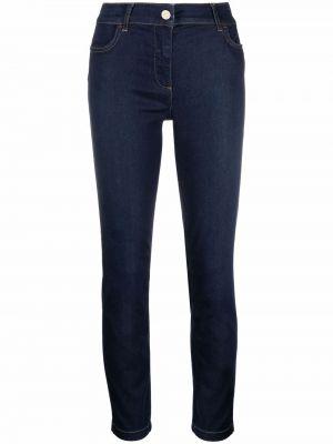 Облегающие зауженные джинсы - синие Liu Jo