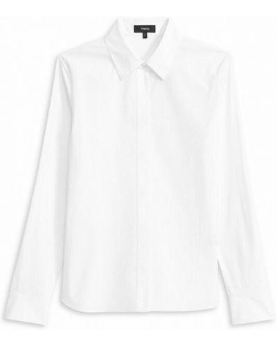 Biała klasyczna koszula Theory