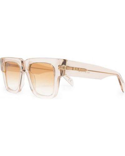 Beżowe okulary Retrosuperfuture