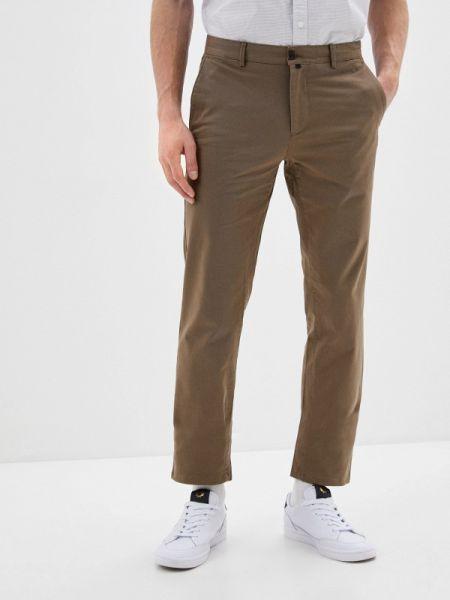 Коричневые брюки чиносы Angelo Bonetti