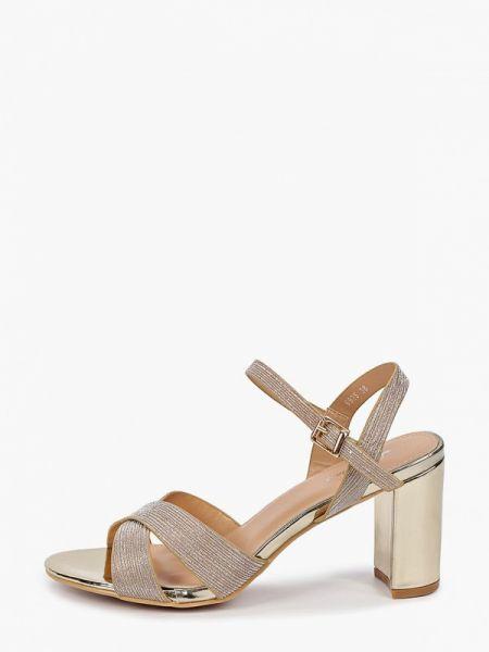 Туфли золотые Style Shoes