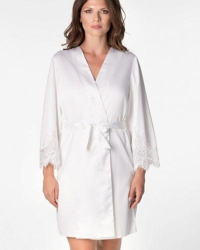 Домашний белый халат Komilfo