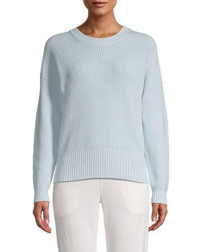 Мягкий хлопковый синий длинный свитер 525 America