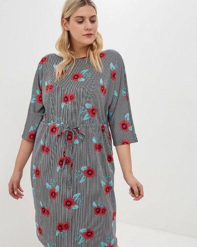 Платье - серое Jp