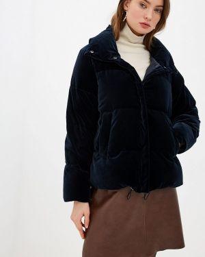 Зимняя куртка осенняя синий Weekend Max Mara