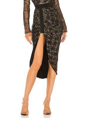 Czarna spódnica koronkowa Zhivago