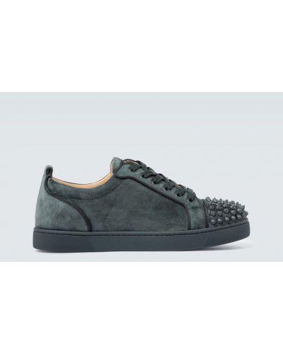 Sneakersy z prawdziwej skóry z kolcami Christian Louboutin
