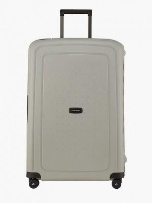 Зеленый зимний чемодан Samsonite
