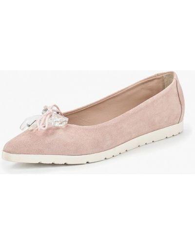 Розовые балетки Tosca Blu