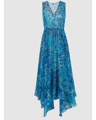 Синее платье макси Twin-set