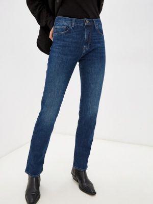 Прямые джинсы - синие Whitney