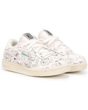 Белые кроссовки Reebok Kids