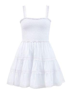 Легкое платье миди - белое Charo Ruiz Ibiza
