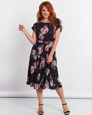 Платье с поясом платье-сарафан с воротником Jetty
