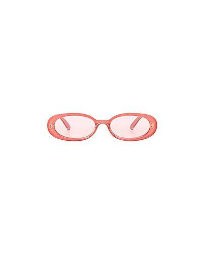 Розовые солнцезащитные очки Le Specs