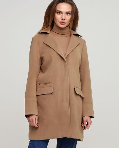 Пальто с отложным воротником - бежевое Alcott