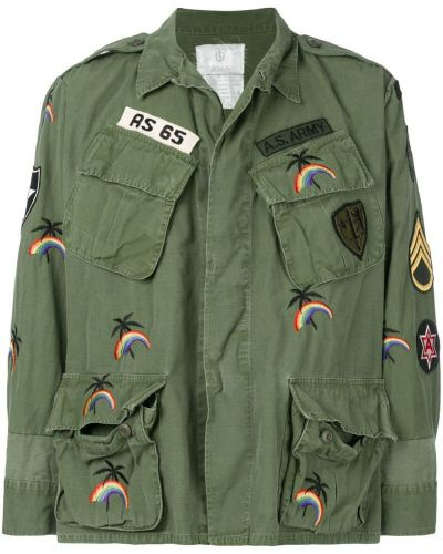Куртка милитари зеленая As65