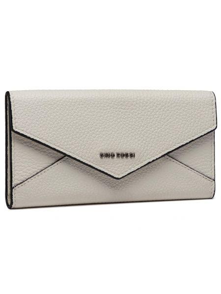 Biały portfel oversize Gino Rossi