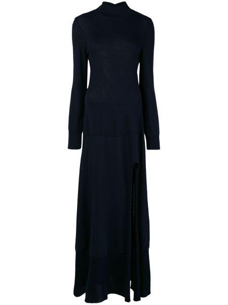 Платье платье-свитер синее Jacquemus