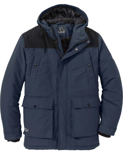 Зимняя куртка темно-синяя синяя Bonprix