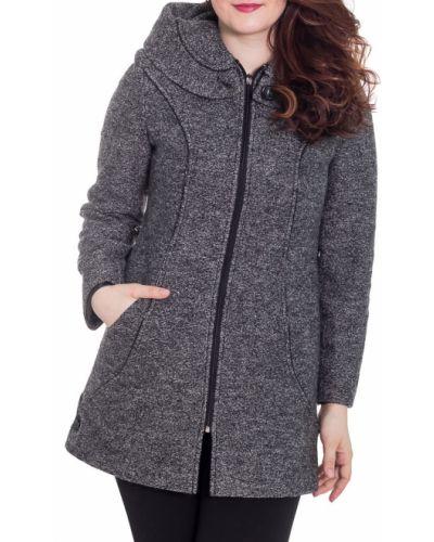 Пальто с капюшоном демисезонное с карманами Lacywear