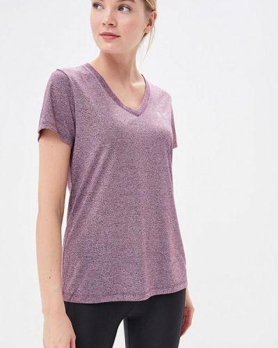 Фиолетовая спортивная футболка Under Armour