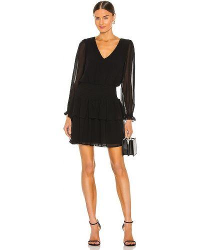 Шифоновое платье - черное 1. State