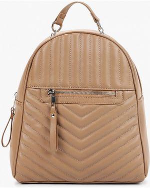 Кожаный рюкзак - бежевый Sela