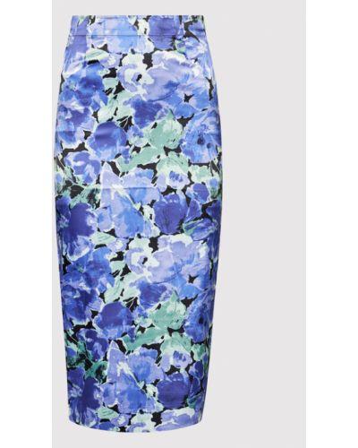 Fioletowa spódnica ołówkowa Rotate