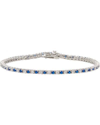 Niebieska bransoletka srebrna Hatton Labs