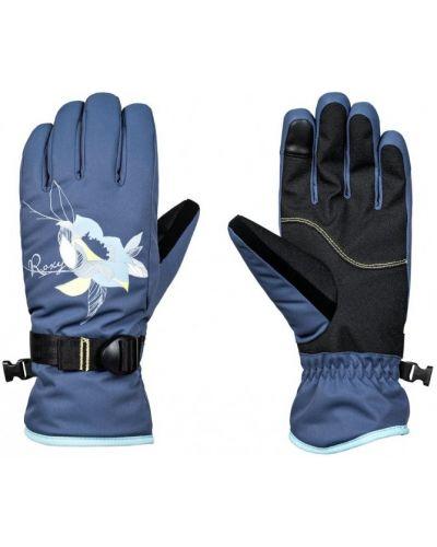 Синие перчатки Roxy