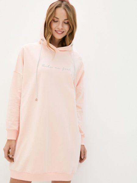 Платье коралловый платье-толстовка Tina Viliams