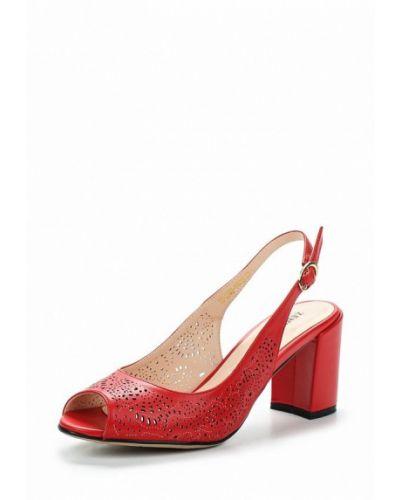Красные босоножки на каблуке Zenden Woman
