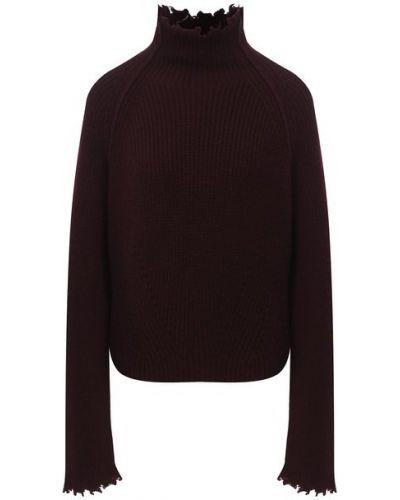 Кашемировый красный свитер Isabel Benenato