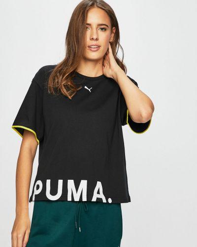 Футболка свободная черная Puma
