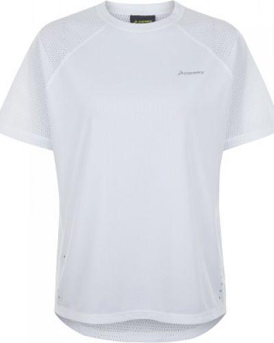 Спортивная футболка белая приталенная Demix