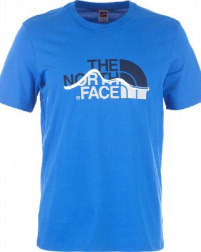 Спортивная футболка хлопковая прямая The North Face