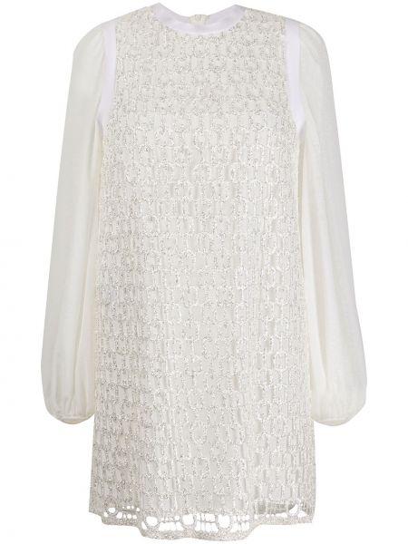 Biała sukienka mini Giamba