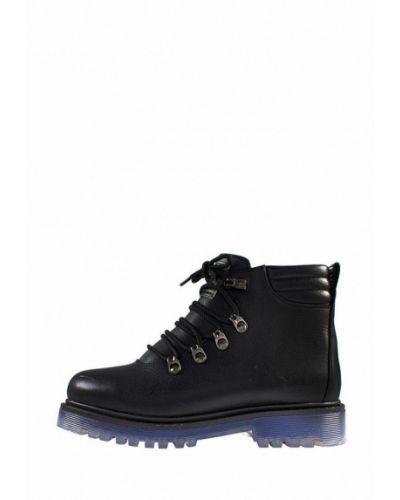 Кожаные ботинки - черные Zlett