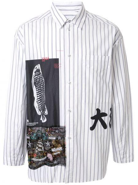 Свободная рубашка на пуговицах Yoshiokubo