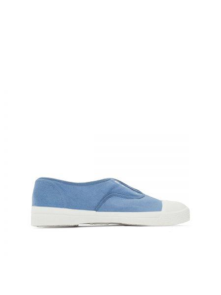 Синие кроссовки Bensimon