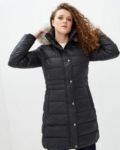 Утепленная черная куртка Tommy Hilfiger