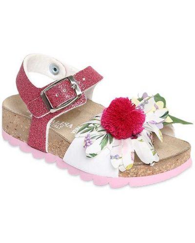 Sandały z klamrą Monnalisa