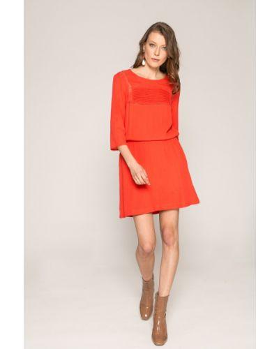 Платье мини с вырезом из полиэстера Answear